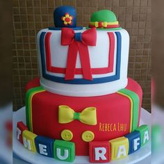 Patati e Patatá #rebecalhu #bolodopatatiepatata Cake, Instagram Posts, Desserts, 1, Design, Party, Cakes, Pastel, Deserts