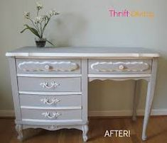 Image result for french painted hope chest