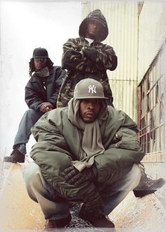 Perhaps one of the most genuine groups on Duck Down Music Inc., O.G.C. (Originoo Gunn Clappaz) have been holding it down since day one. Not to be fooled by their youthful appearances, with more aliases than shells held in the clip of 9MM pistol, the trio: Starang Wondah (aka Gunn Clappa Numba One, Big Will, Hurricane Starang, and Da Beast From Da East); Louville Sluggah (aka Gunn Clappa Numba Two, Hennyville Guzzler, Henny); and Top Dog (aka Gunn Clappa Numba Three, Big Kahuna, D-O)