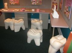 Tooth chairs