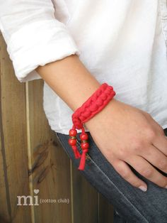 pulsera trapillo summer time