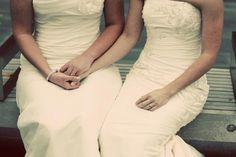 2 dress weddings make me swoon