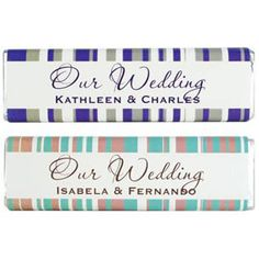 Wedding Chocolate Bar Unique designs available choose one and