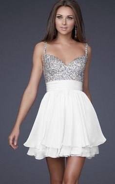 Fashion Sexy Beaded Short/Mini Womens Prom Party Cocktail Wedding Dress