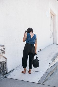 calivintage - linen pants from steller jay shop