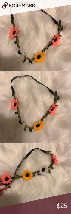 Flower Headband. New! Adorable flower headband Accessories Hair Accessories