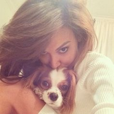 """""""Morning! From me and this little one"""" - Naya Rivera"""