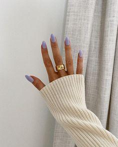 Hair And Nails, My Nails, Lilac Nails, Acryl Nails, Street Style Outfits, Fire Nails, Nail Ring, Dream Nails, Cute Acrylic Nails