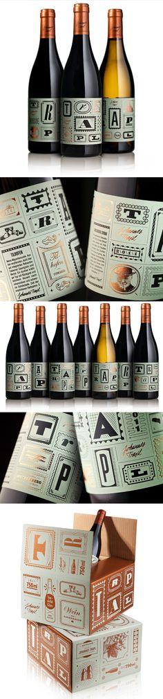 Johannes Trapl wine by Typejockeys