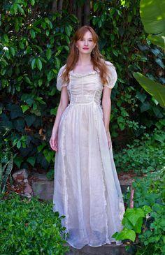 My Organza Wedding Dress by TavinShop on Etsy