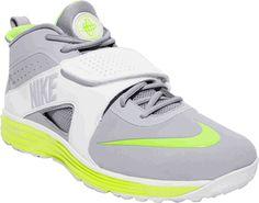 Nike Huarache Turf LX Lacrosse Cleat - Gray White Volt Nike Huarache c6473000b