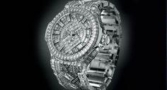 O incrível relógio de R$ 10 milhões de Jay Z #relogio #watches #acessorios #estilo #fashion #diamantes #ouro #style #jayz #beyonce