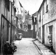 Granby Street, Devonport, Plymouth 1950s, via Flickr.