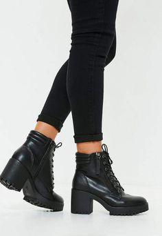 4fb3acbf68f87 Dr Martens - Emmeline - Bottines élégantes en cuir à lacets - Noir ...