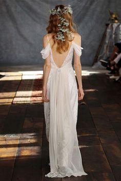 Une robe nymphéale