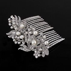 Elegant Wedding Bridal Gorgeous Rhinestone Crown Hair Comb Pin -6688 * Check out this great product. (This is an affiliate link and I receive a commission for the sales)