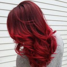 Seeing red! What do you think of this hair color? ♥