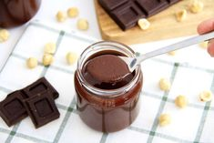 Cheesecake con bombones Ferrero Rocher y Nutella - Recetas Thermomix Flan, Chocolate Fondue, A Food, Clean Eating, Healthy Recipes, Healthy Food, Keto, Desserts, Diabetes