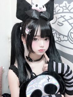 Cute Kawaii Girl, Kawaii Goth, Kawaii Cosplay, Cute Cosplay, Maid Cosplay, Cosplay Girls, Emo Girls, Cute Asian Girls, Grunge Goth