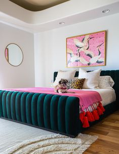 One Room Challenge - Week Two - Modern Maximalist Master Bedroom - Bari J. Art Deco Bedroom, Modern Bedroom, Bedroom Decor, Tiny Master Bedroom, Master Master, Bedroom Beach, Bedroom Furniture, Casa Art Deco, Diy Décoration