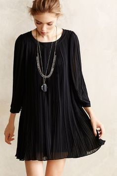 Dear Creatures Pleated Millie Swing Dress #anthrofave #anthropologie