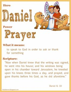 Scripture lessons for kids