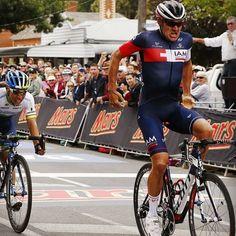2015 national Australian RR champion Heinrich Haussler 2nd caleb Ewan 3rd Neil van der Ploeg #australiancycling #australia #iam #iamcycling #oricagreenedge #orica #scott #giro #haussler #calebewan...