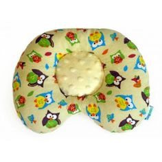 Must-have nursery item! Ergonomic baby pillow for infants up to 9 months prevents plagiocephaly