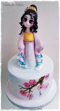 Little Geisha  - Cake by Time for Tiffin
