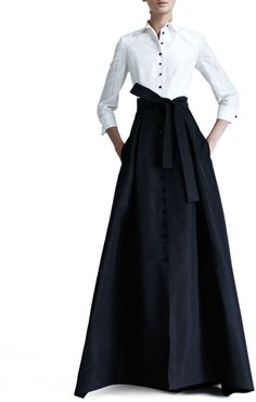 Carolina Herrera Shirtwaist Taffeta Ball Gown • Carolina Herrera • $4,290