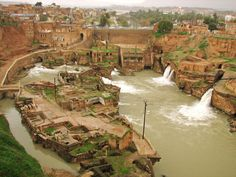 The system forms a cliff from which water cascades into a downstream basin and enters south of the city enabling the people of Shushtar to plant orchards and create farms over an area of 40,000 hectares. This amazing system was developed from earliest times and many examples of it are still in place around #Shushtar. visit >>http://bit.ly/1rDTA6V