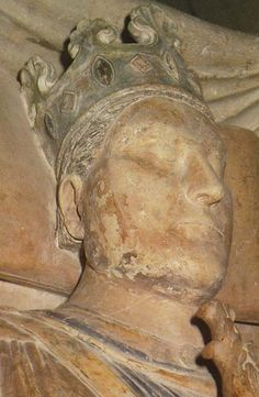 King Henry II of England effigy at Fontervraud Abbey
