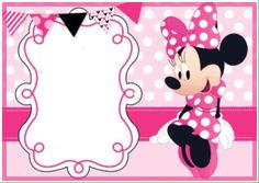 use our printable minnie mouse invitation templates to make your, Invitation templates