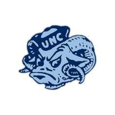 Vintage University of North Carolina Tar Heel Cufflinks