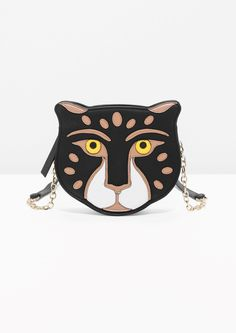& Other Stories | Feline Leather Bag in Black