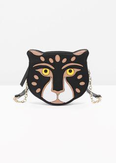 & Other Stories | Feline Leather Bag in Black