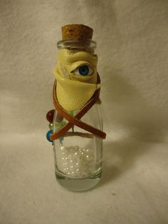 Potion Bottle with Pearls of Wisdom