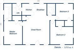metal building house plans | Our Steel Home Floor Plans - Click to View!