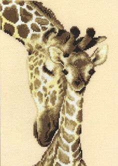 Free Cross Stitch Patterns: Gigi the Giraffe |