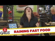 It's Raining Fast Food ! - Just for Laughs Gags - Prank Videos - Joke King Just For Laughs Gags, Prank Videos, It's Raining, Jokes, Youtube, Food, King, Bear, Chistes