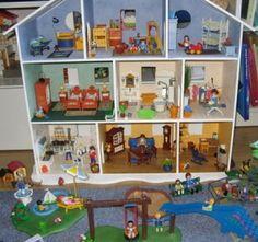 maison playmobil en carton plume playmobil house maison playmobil pinterest playmobil et. Black Bedroom Furniture Sets. Home Design Ideas