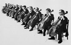 The 12 Cellists of the Berlin Philharmonic Old Music, Music Like, Sound Of Music, Cellos, Jazz Guitar, Jazz Musicians, Art For Art Sake, Black And White Pictures, Music Education