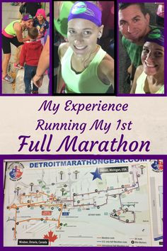 I recently ran my first full marathon. Read all about my previous running. my training plan. and experience running in the marathon. I ran the Detroit Free Press marathon. It is an international marathon that runs to Canada and back. Gentle Parenting, Parenting Advice, Windsor, Marathon, Yoga Fitness, Fitness Tips, Ontario, Michigan, Detroit Free Press