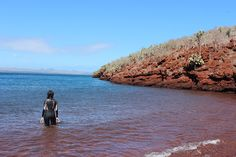 Red Beach, Galapagos
