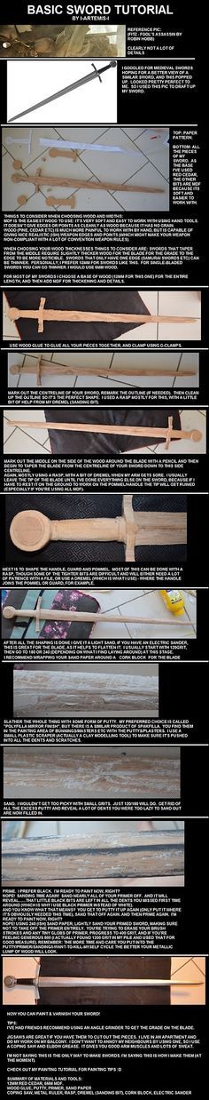 Basic Wooden Sword Tutorial by I-Artemis-IView the full tutorial here:http://i-artemis-i.deviantart.com/art/Basic-Wooden-Sword-Tutorial-4511...