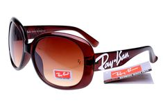 Classic Jackie Ohh Ray Ban RB7019 Deep Brown--Tawny Lens $14.87..I like it,so cool