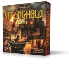 Stronghold 2nd edition. Artwork: Tomasz Jędruszek. Design: Rafał Szyma