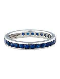 Tiffany & Co. Sapphire Band