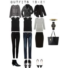 Outfits 19-21