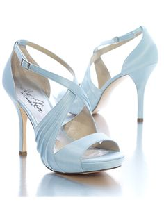 "If the bride wants her ""Something Blue"" to be her shoes..."